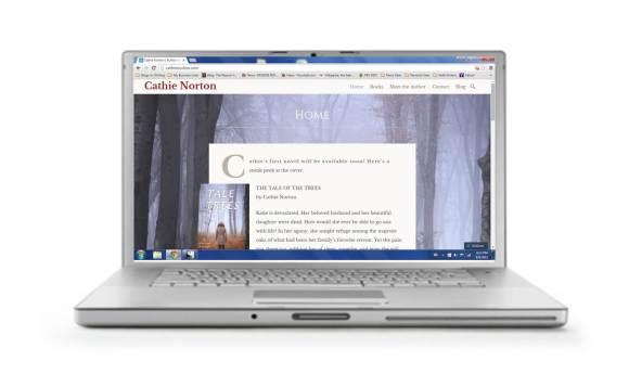 Cathie Norton.com website