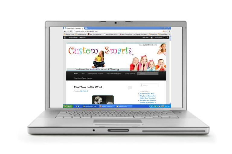 CustomSmartsWebsite