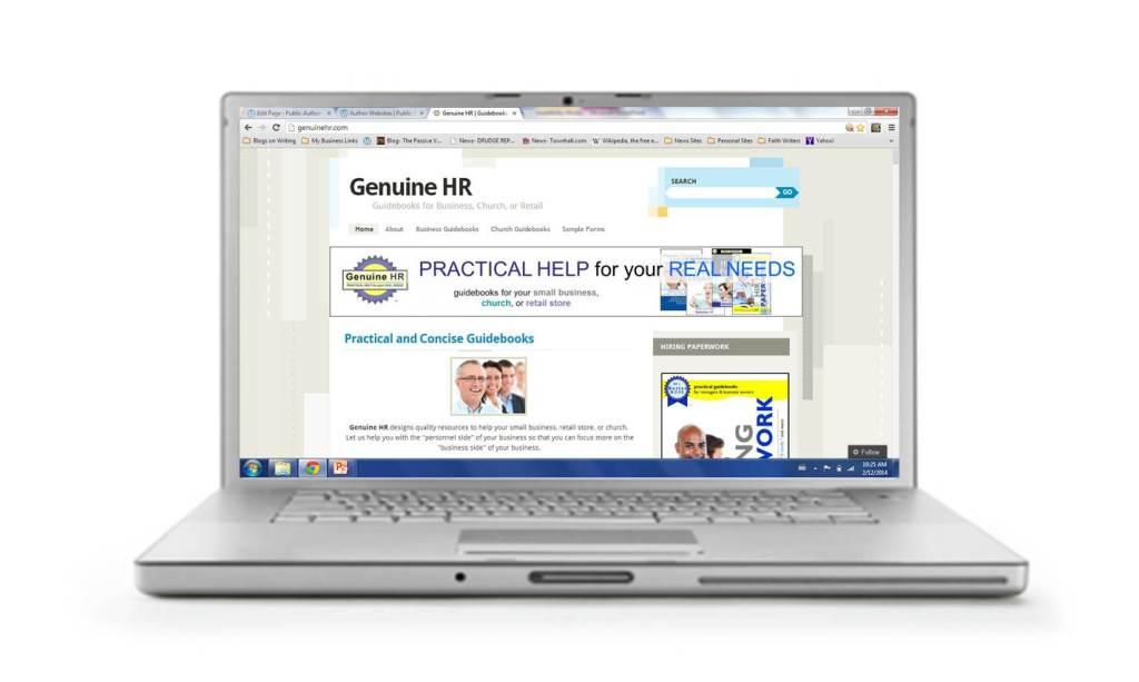 GenuineHR website