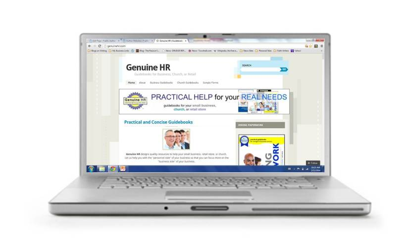 GenuineHR website