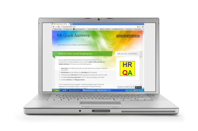 HRQAWebsite