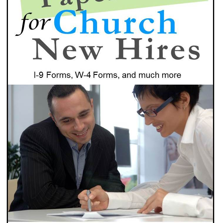 Paperwork for Church New Hires cover