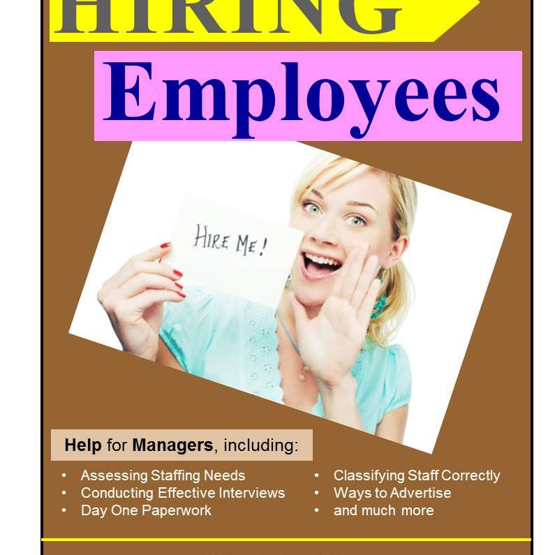 Retailer's Guide to Hiring Employees cover