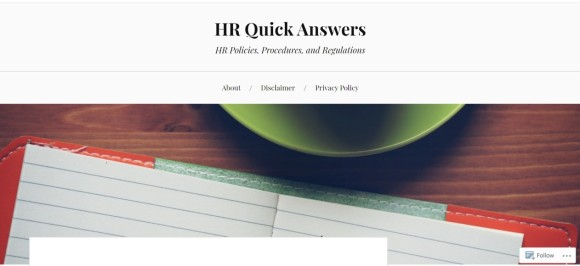 HR Quick Answers