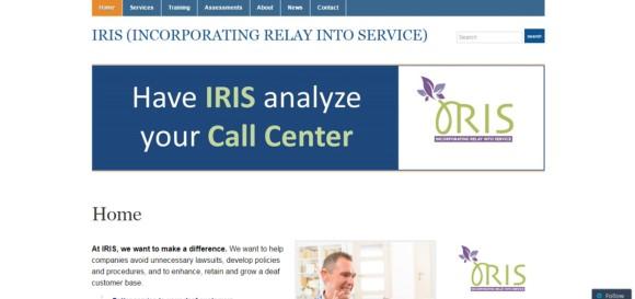 IRIS Solutions Website by Public Author