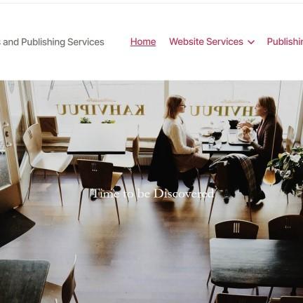 Public Author website