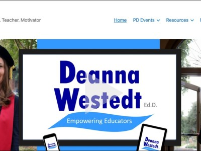 Deanna Westedt website by Public Author